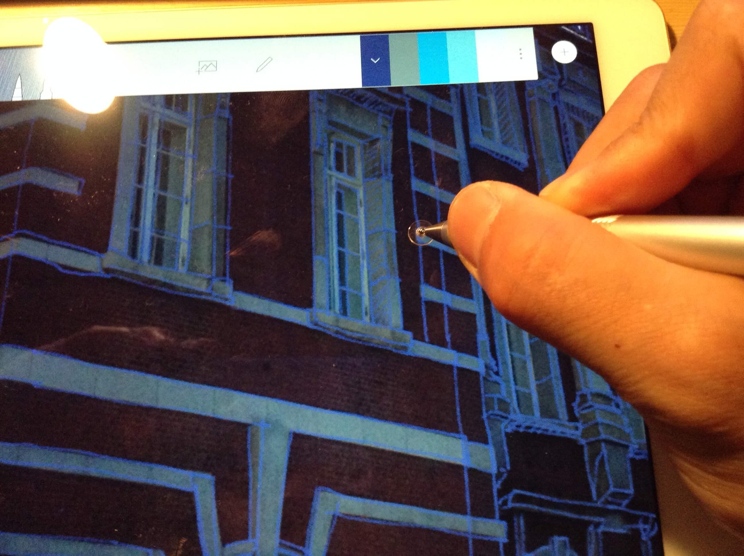 【iPadでお絵かき】スタイラスペン「Adonit Jot Pro 2.0」でなぞり描きが楽しくなる