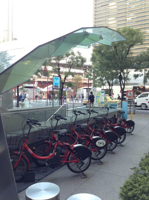 レンタサイクルで東京サイクリング