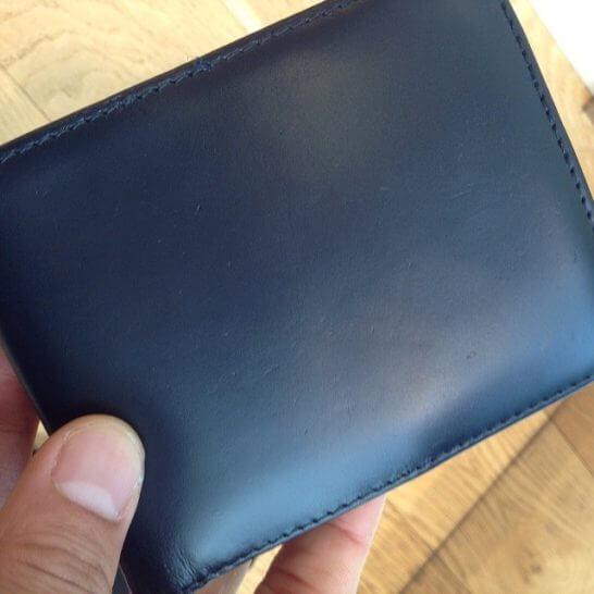 革財布の色なおしの感触