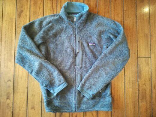 10年着たパタゴニアR2ジャケット