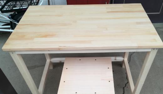 シンプルな机を自作する